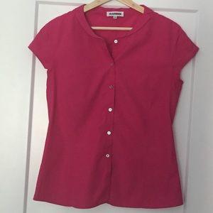 Jil Sander cotton sleeveless blouse